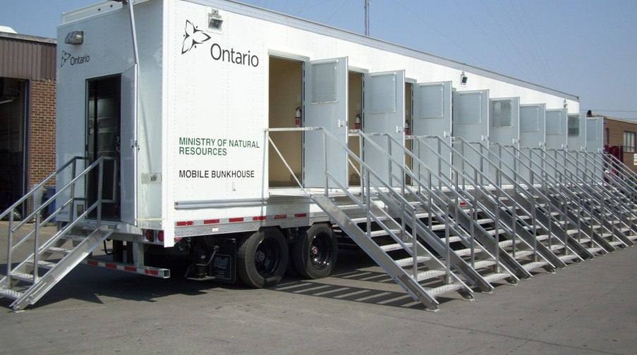 Ministry of Natural Resources Mobile Bunkhouse