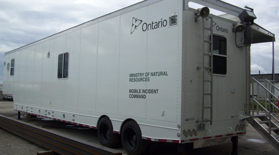 Ministry of Natural Resources Mobile Incident Command
