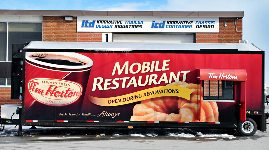 Tim Hortons Mobile Restaurant
