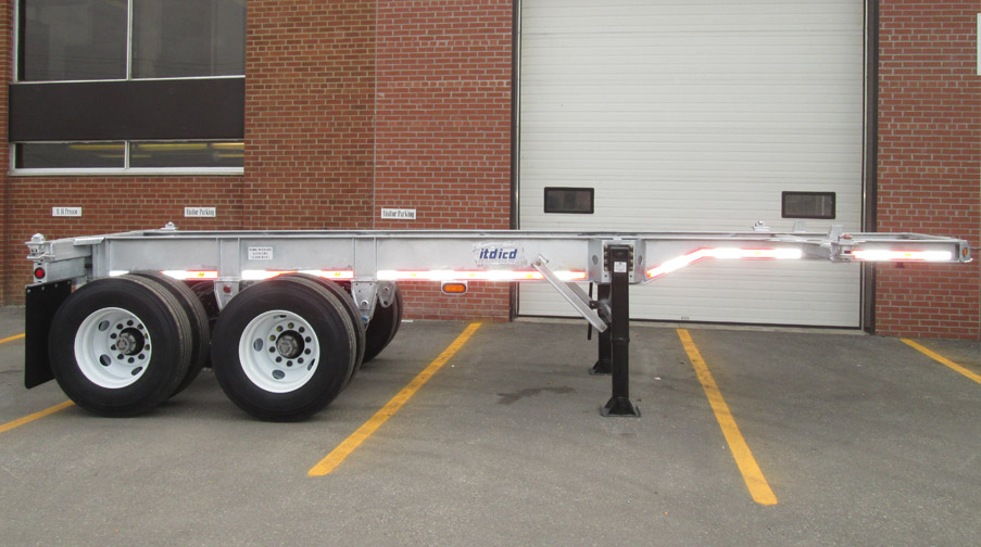 20 foot Fixed Chassis