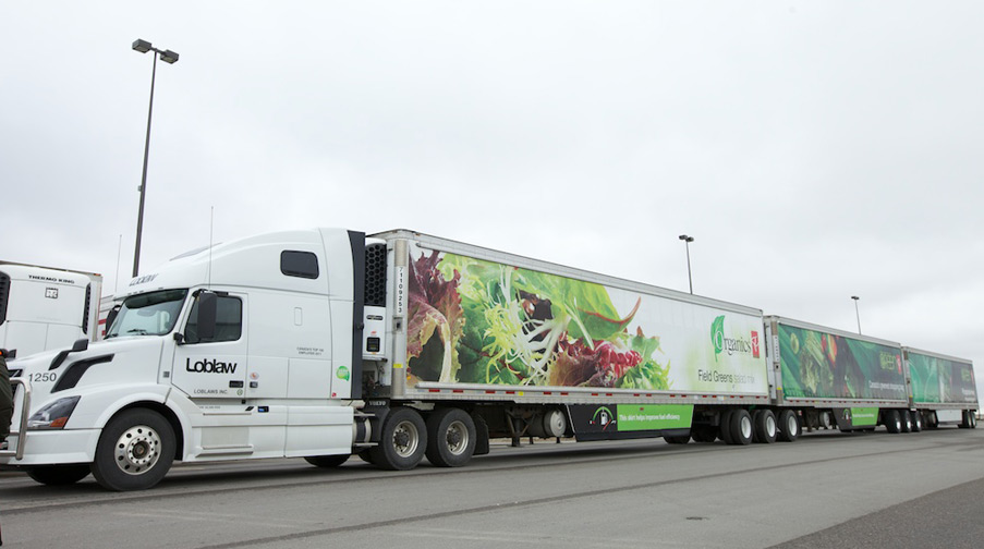 Loblaws Long Combination Vehicle (LCV) Chassis