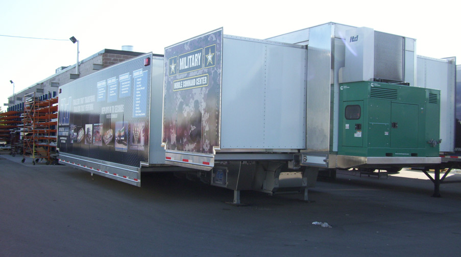 Mobile Command Expandable Trailers