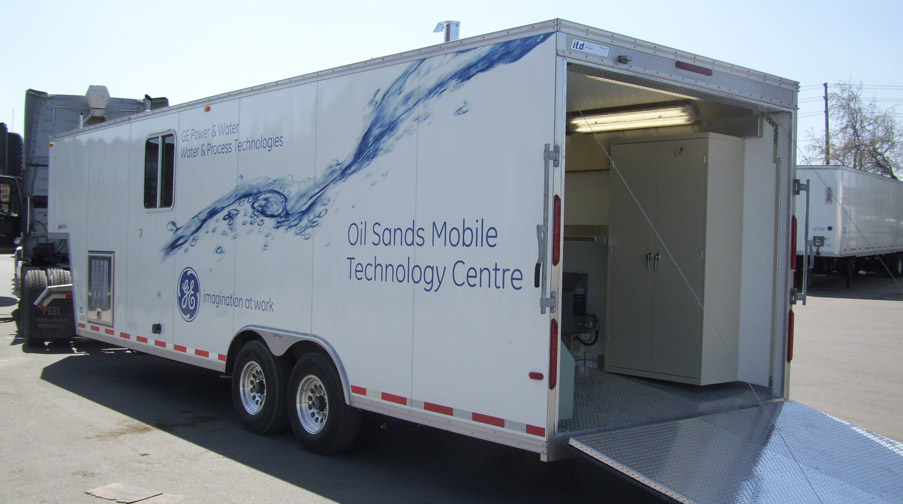 GE Oil Sands Mobile Technology Centre